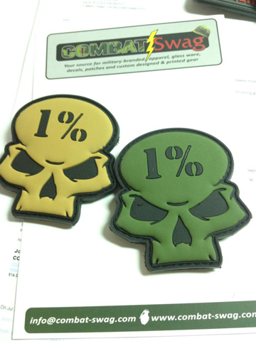 1% Skull PVC path from Combat Swag