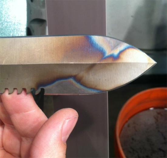 Medford Knives 3 - sharpening