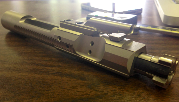 New Enhanced Bolt Carrier Group from Leitner Wise Manufacturing photo