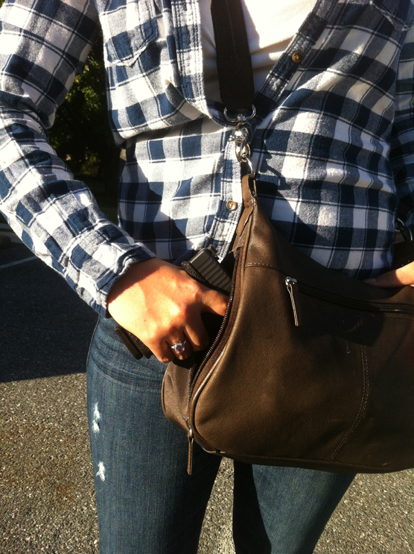 Off Body Concealed Carry - Purse Carry CCW