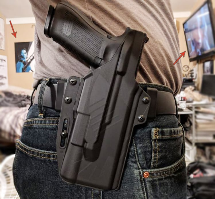 Perun LC Light Compatible Holsters for WMLs by Raven Concealment Systems