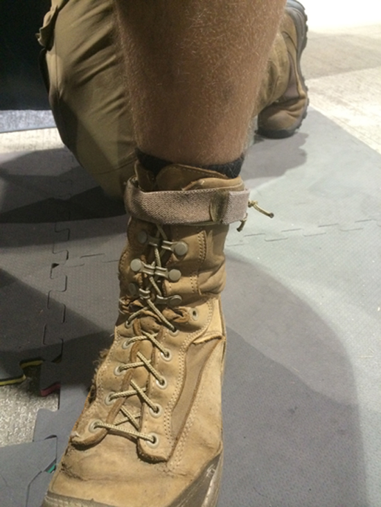 Taclace Combat Boot Lacing System Breach Bang Clear