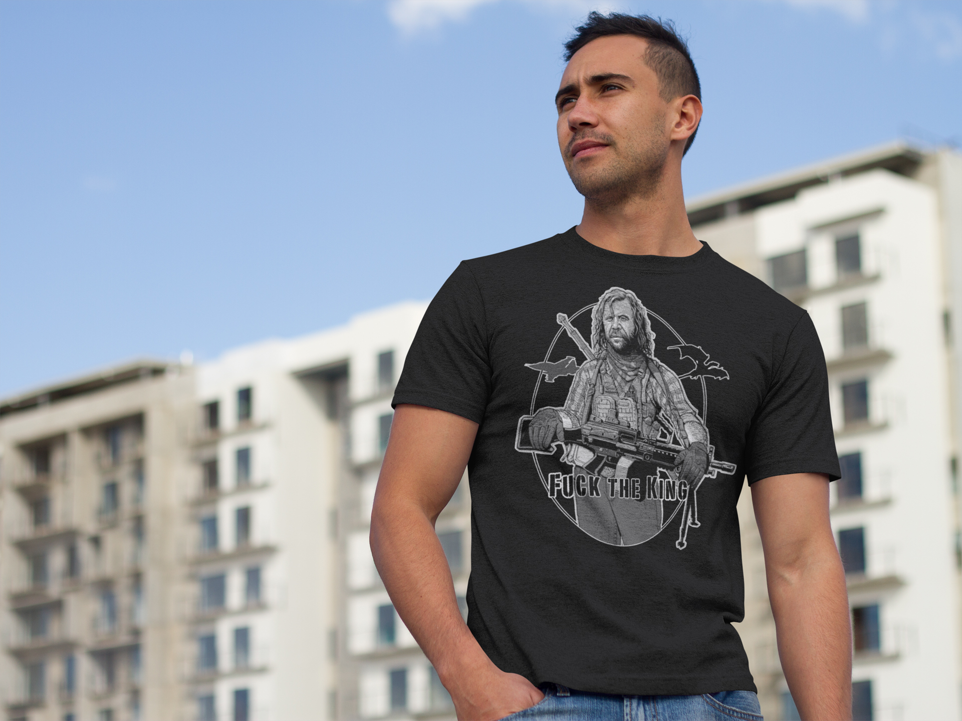 The Hound T-Shirt Game of Thrones tactical style