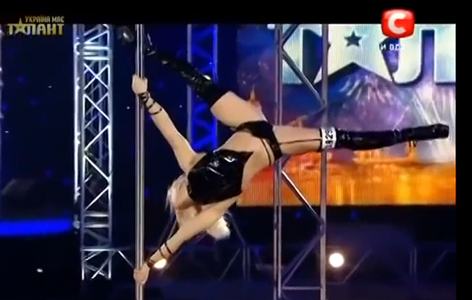 Ukraines got talent - stripper 2
