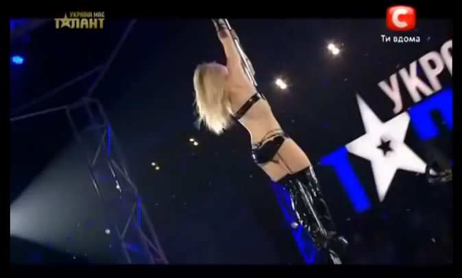 Ukraines got talent - stripper 3