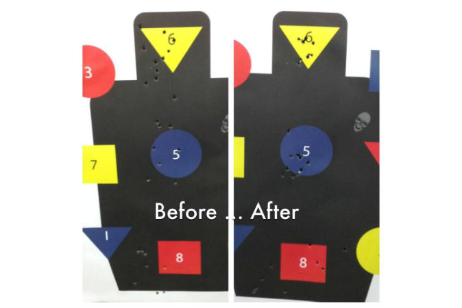 Before and after targets - if you don't have a base line, and don't keep track of what you do, you'll be hard pressed to improve.