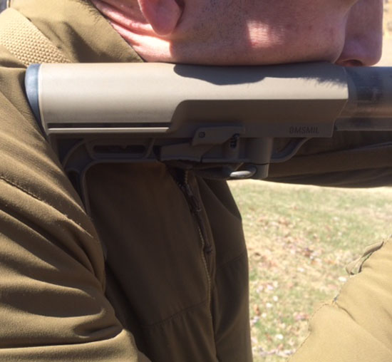 Fundamentals of marksmanship - cheek weld is important. But what is cheek weld?