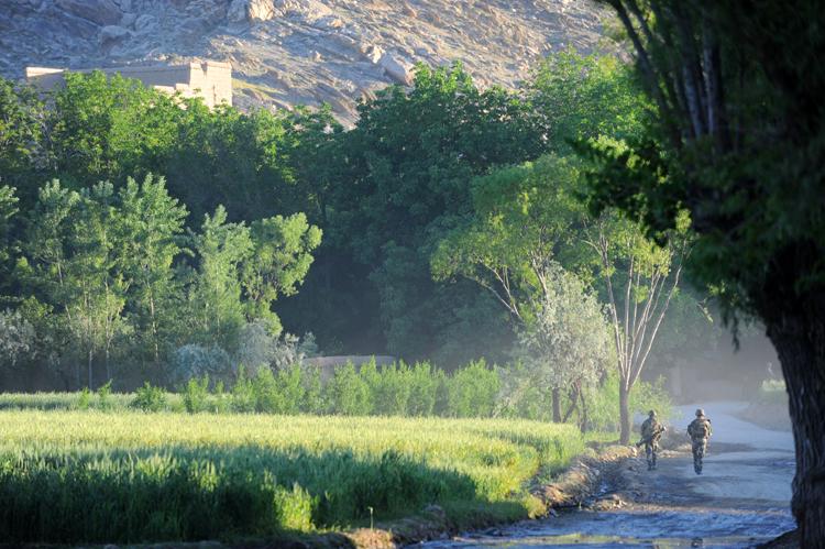 Avec les Chasseurs Alpins en Afghanistan