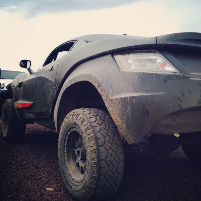 Getting muddy at Ovlerland Expo