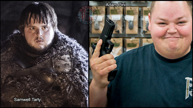 Tactical Game of Thrones - Adam Pini will be Samwell Tarly