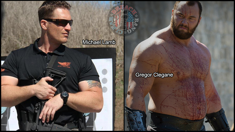 Tactical Game of Thrones Michael Lamb as Gregor Clegane