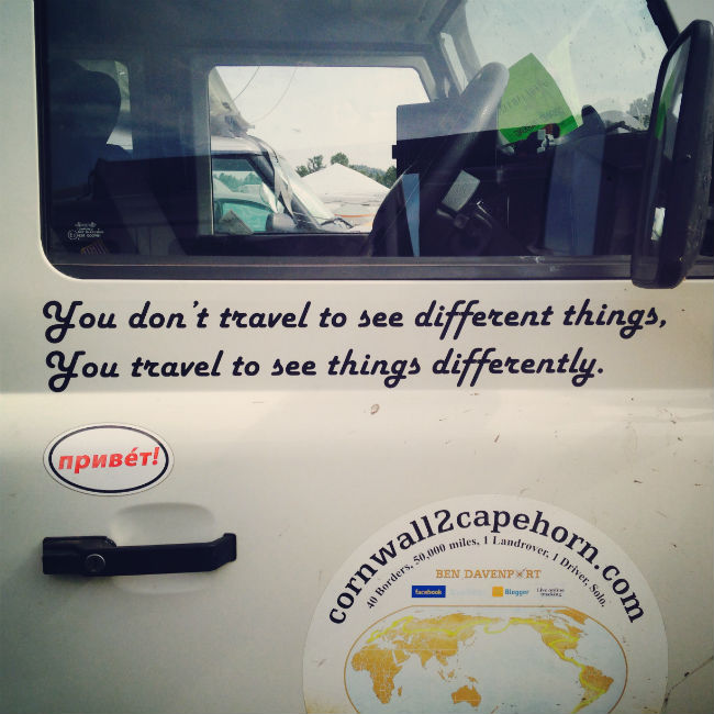 Travel to see differently - it's a mantra embraced by Overland Expo