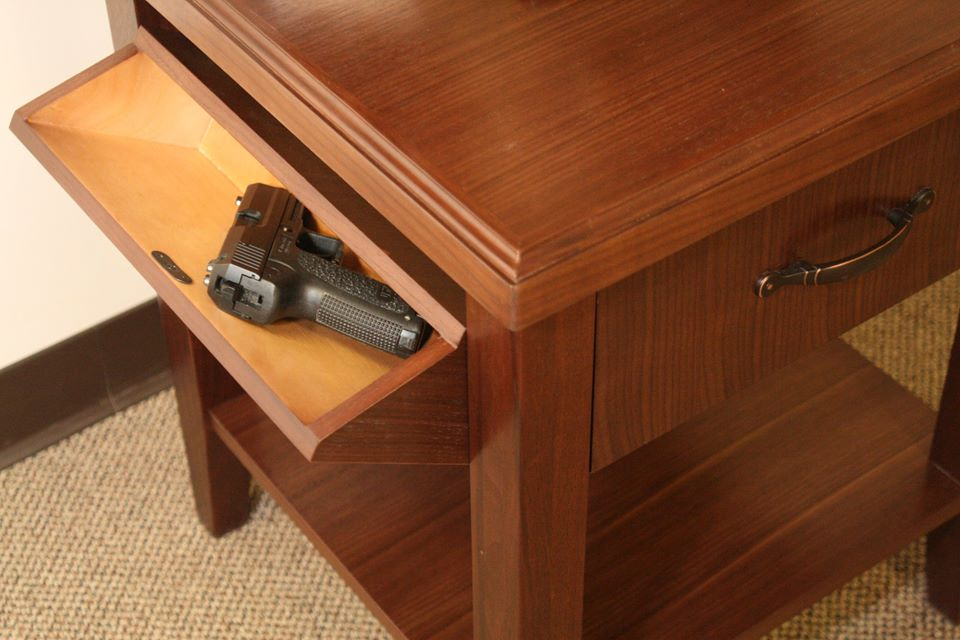 A Nightstand Table That Packs Heat Breach Bang Clear