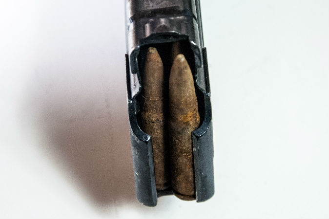 corroded ammo