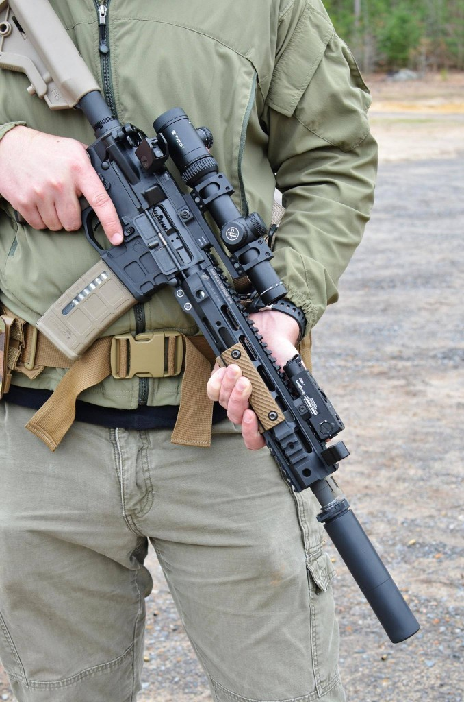 Sneak peak at America's Rifle (the AR) as newly interpreted by American Defense Manufacturing (ADM)
