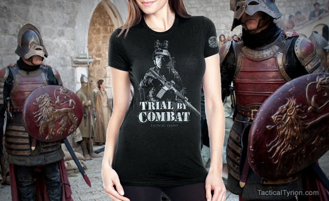 Tactical Tyrion female shirt