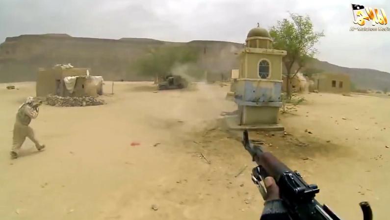 Attack on a terrorist camp 1