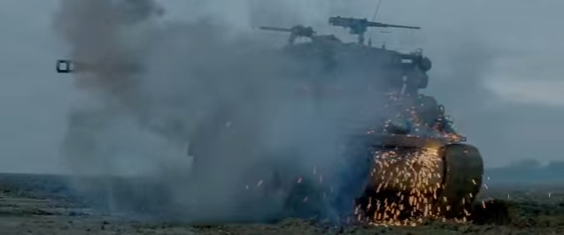 Fury movie Tanks in WWII Tanker Movie Bradd Pitt Breach Bang Clear 3