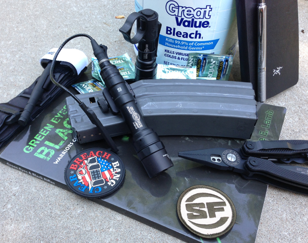 SureFire about to go to the range 2