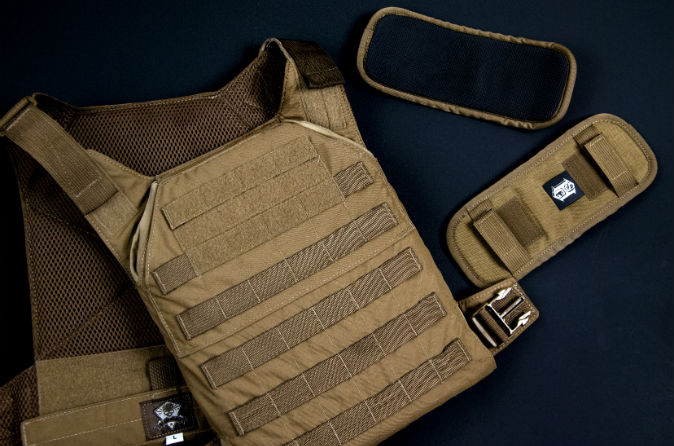 Grey Ghost's MPC is legitimately a minimal plate carrier.