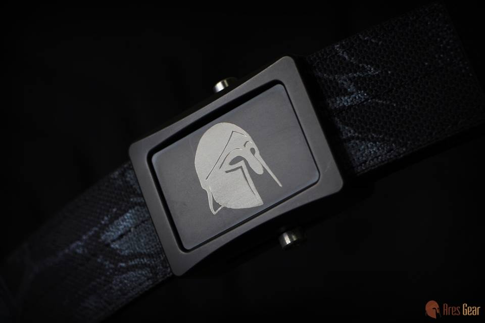 Ares Gear Spartan Belt Buckle option