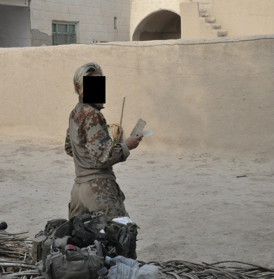 That interfere, Femal naked marine afghanistan really. happens