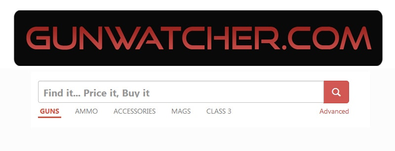 Gunwatcher has a simple but effective search tool