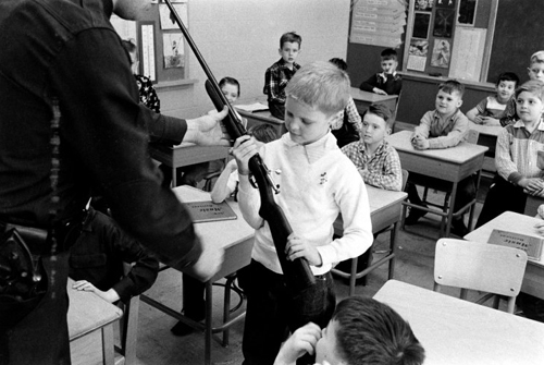 """guns in school """"school districts considering arming teachers and school staff with guns would take on significant responsibility and potential liabilities that i firmly believe."""