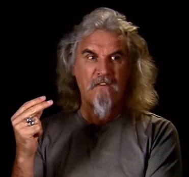 billy connolly fuck off