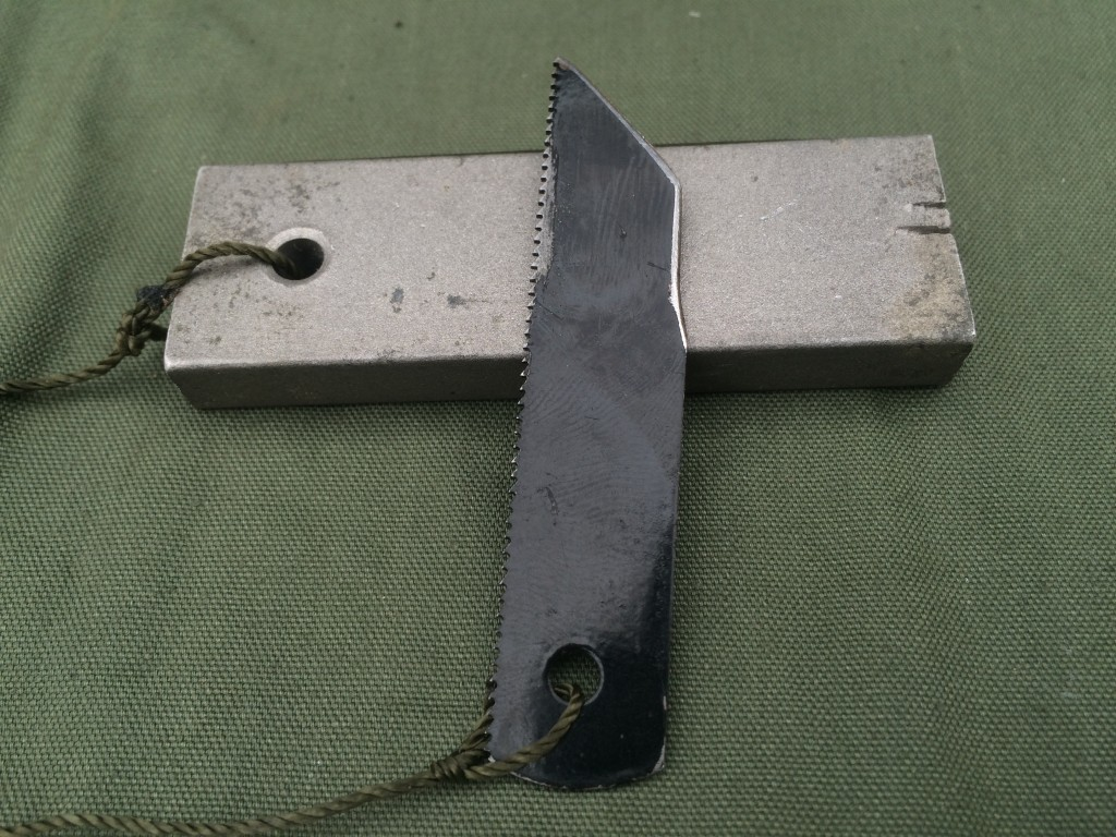 hacksaw survival kit knife