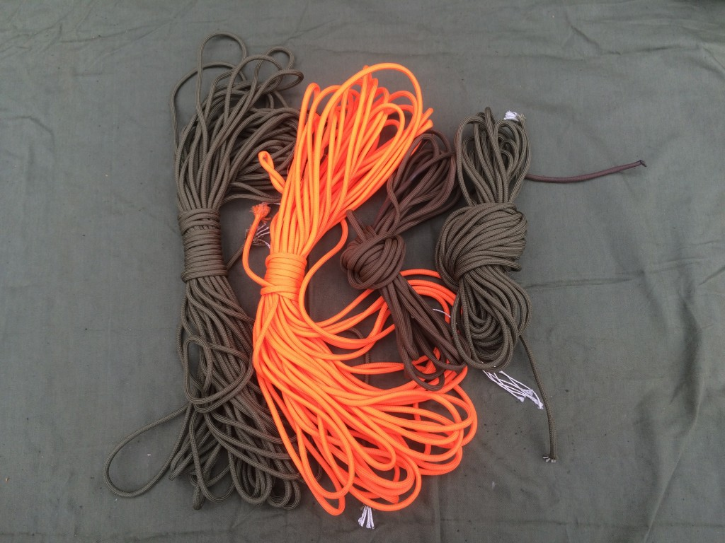 survival kit series cordage