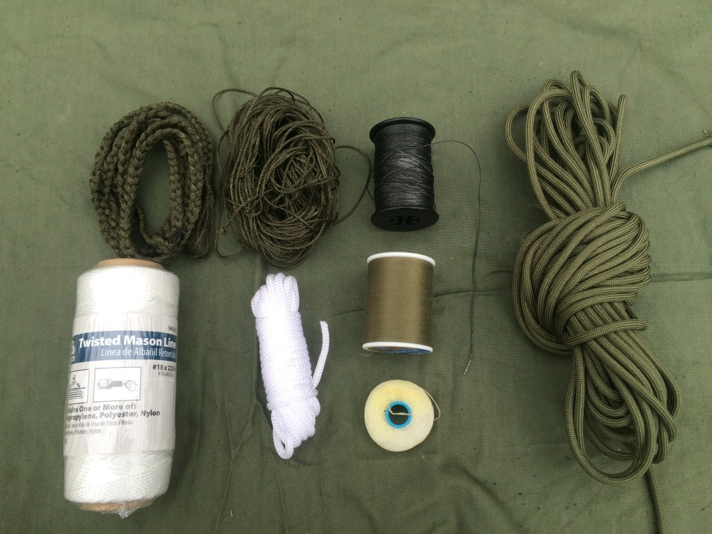 survival kit series cordage 2