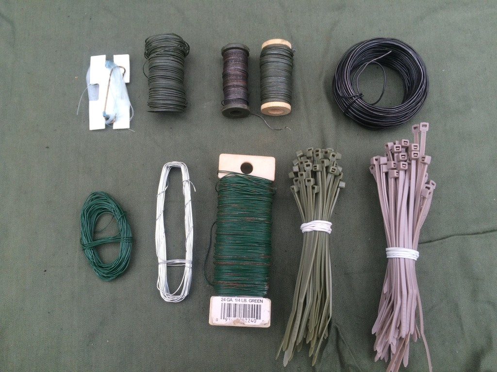 survival kit series cordage 3 wire