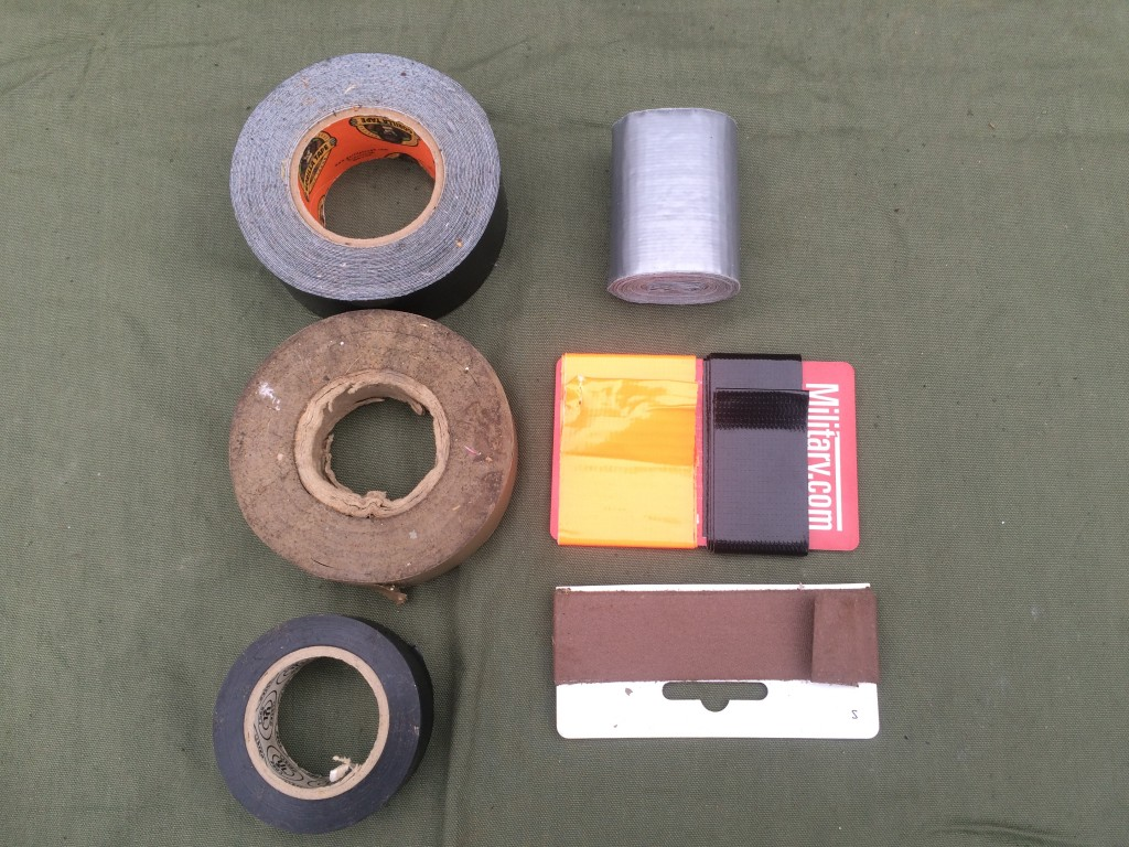 survival kit series cordage 4 tape