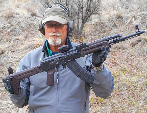 Magpul AK 47 furniture: Ken Hackathorn with the Plum Zhukov Stock