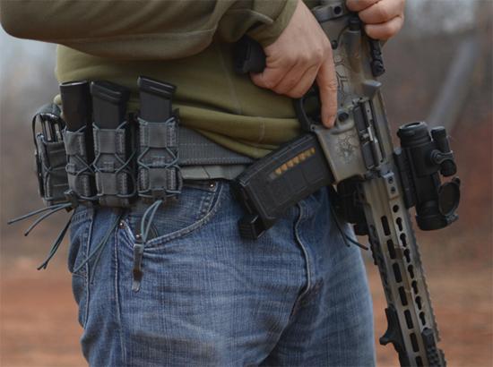 HSGI Slim Grip Belt Review Breach Bang Clear Cowan 5