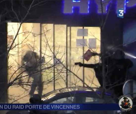 Terrorist killed in Paris - assault - Porte de Vincennes