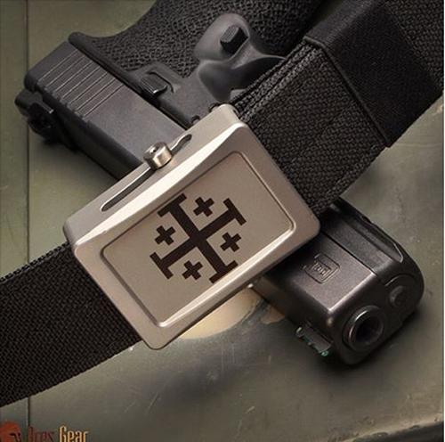 Ares Gear Aegis Buckle - Crusader Cross