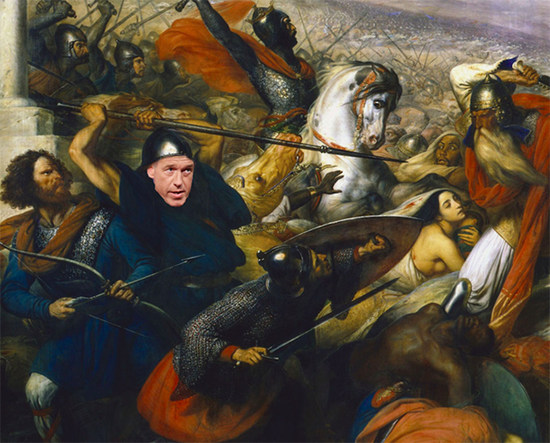 Brian Williams misremembers his first battle