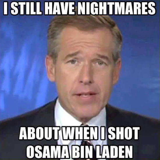 Funny Memes About Current Events : You leave brian williams alone breach bang clear