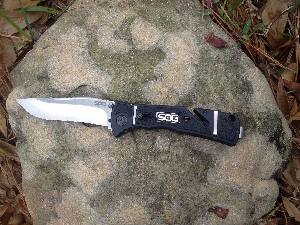 The Trident Elite Knife from SOG