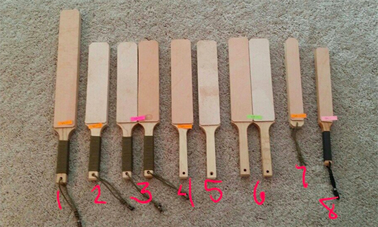 Wicked Products Custom Knife Strops