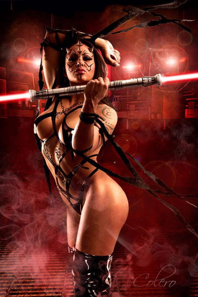 NSFW Star Wars Breach Bang Clear hot Cosplay girls 10