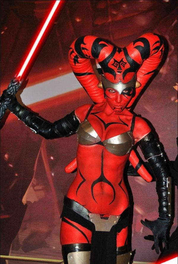 NSFW Star Wars Breach Bang Clear hot Cosplay girls 11