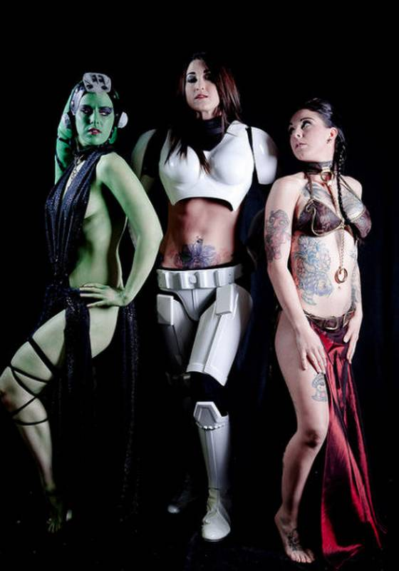 NSFW Star Wars Breach Bang Clear hot Cosplay girls 14