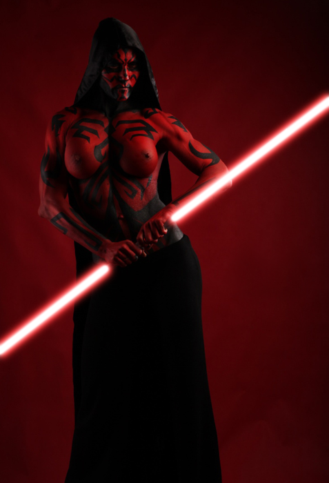 NSFW Star Wars Breach Bang Clear hot Cosplay girls 41