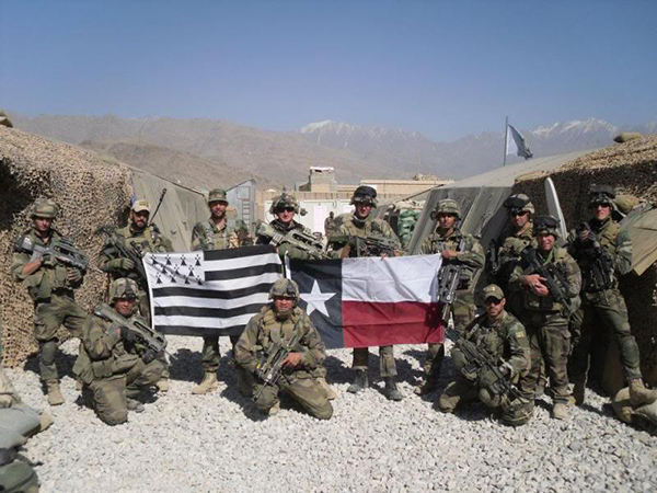 French and Americans in Afghanistan
