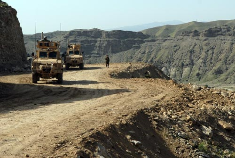 MRAPs-Tagab Valley