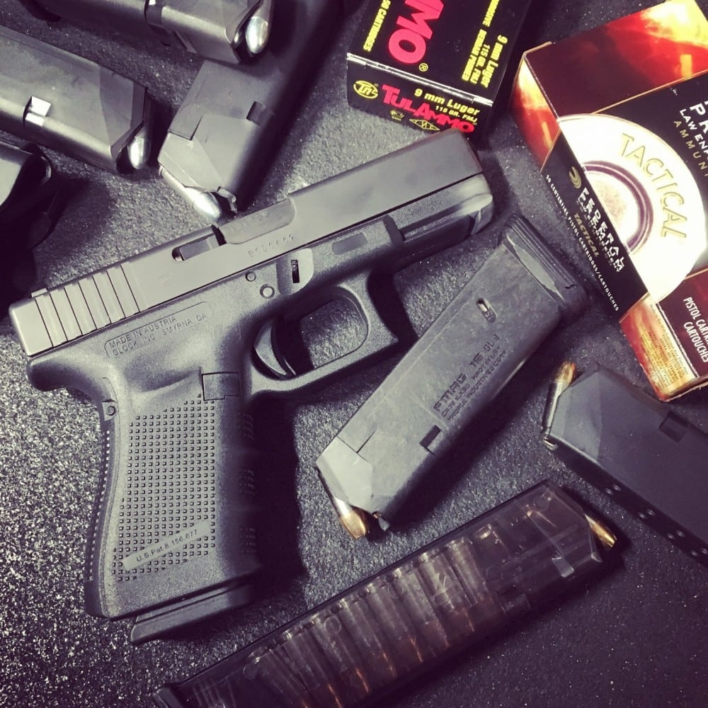 "Aftermarket Glock mags in an article by Tamara Keel on ""View from the porch."""