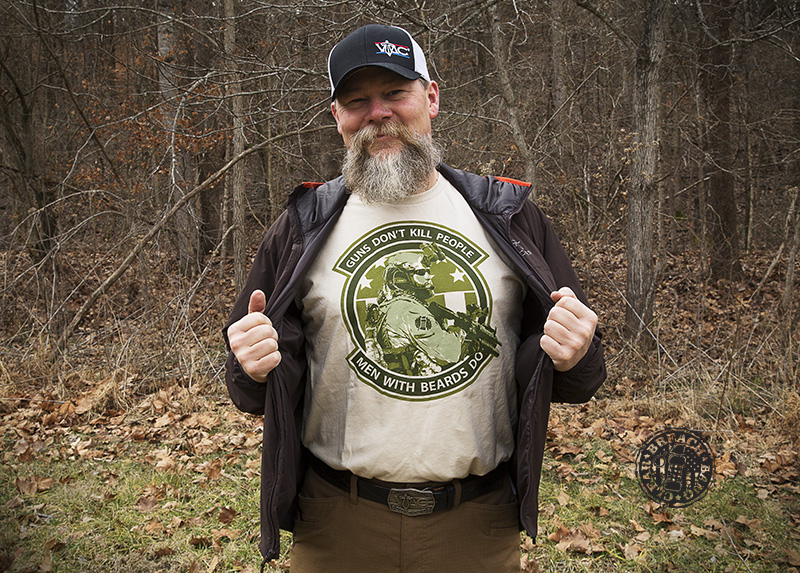 Kyle Lamb Viking Tactics Beard Shirt